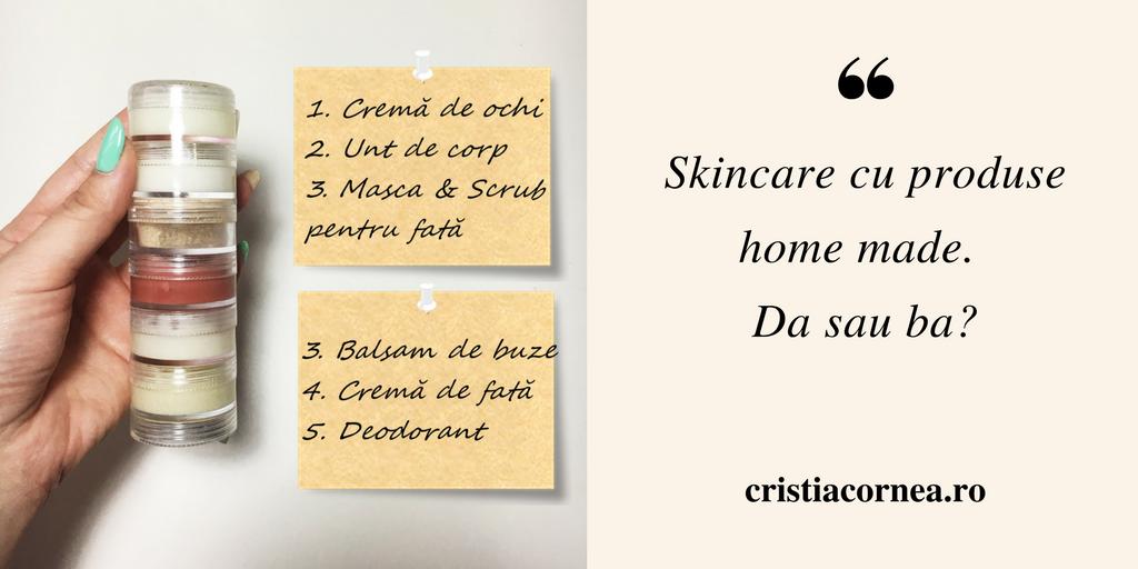 skincare cu produse homemade da sau ba cristia cornea. Black Bedroom Furniture Sets. Home Design Ideas